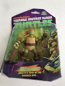 Playmates 2014 Teenage Mutant Ninja Turtle 'Michelangelo' Sealed