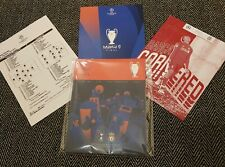 More details for champions league final liverpool v tottenham programme & teamsheet with poster!!