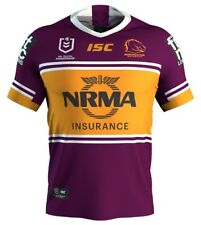 Brisbane Broncos 2019 Home Jersey Mens, Womens & Toddlers Sizes ISC NRL