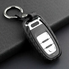 Car Key Case Carbon Fiber Scratch Proof For Audi A4 A5 A6 A7 A8 Q5 S4 S6  DXU