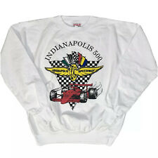 VTG 80s RARE Indianapolis Indy 500 Race STP Long sleeve T Shirt Thin Sweatshirt