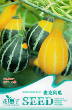 10 Original Pack Seeds Microphone Shape Bottle Gourd Seeds Organic B071