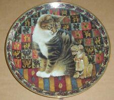 Danbury Mint Plate MALTEAZER IN PERU - CATS AROUND THE WORLD