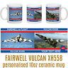 AVRO VULCAN BOMBER XH558 Spirit of Great Britain Farewell Tour Personalised Mug