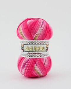 100g Cicibebe Magic Color ! mit tollem Farbverlauf ! NEU (Grundpreis 2,99€/100g)