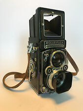 ROLLEIFLEX 3.5F1 CAMERA - K4D METERED with SCHNEIDER XENOTAR 3.5F 75MM LENS