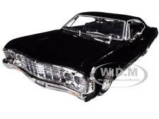 "1967 CHEVROLET IMPALA BLACK ""LOWRIDER SERIES"" STREET LOW 1/24 JADA 98934"