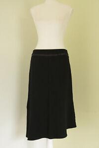 Suite 62 Black Asymmetric A-line Skirt Size 8 Corporate Business