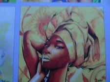 Stunning 2020 Tonderai art calendar illustrating BAME women - strong powerful
