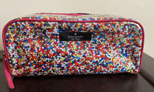 Kate Spade NY Cake Sprinkles Confetti Cosmetic Make Up Case Pouch