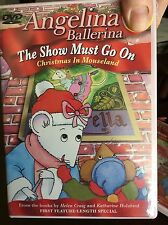 Angelina Ballerina: The Show Must Go On -Christmas in Mouseland