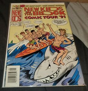 New Kids on the Block Comic Tour '91 #6 (Harvey)