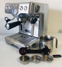 Breville BES830XL Programmable Espresso Machine Coffee Maker -working