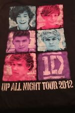 1D One Direction Mens T-Shirt 424-11 Up All Night Tour 2012 Concert Medium (O2)