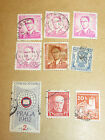 Lot Of 9 Mixed Stamps - Belgium / Czechoslovakia - Used.
