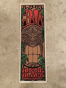 311 Concert Poster 8/21/03 House Of Blues Myrtle Beach - Artist Signed #200