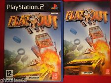 PS2 PS3 FLATOUT PLAYSTATION 2 FLATOUT PS2