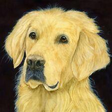 Golden Retriever Dog Pet Portrait, Watercolour PRINT from an Original Painting