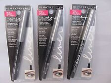 2 Pack Maybelline Master Drama Cream Eye Liner Pencil #410 Made Of Steel