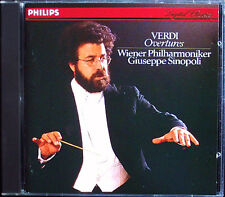 Giuseppe SINOPOLI: VERDI Nabucco La Traviata Luisa Miller I vespri siciliani CD