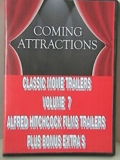 CLASSIC MOVIE TRAILERS VOLUME 7 - Hitchcock Films Trailers + Bonus Extra's *NEW*