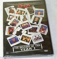TNA History of TNA Year 1 Wrestling DVD NEW SEALED AJ Styles