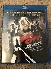"""Sin City """"A Dame To Kill For"""" 3D, ( 2 Blu-Ray Set, No Digital) No Slipcover"""