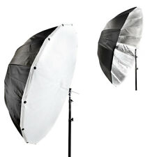 PiXAPRO 150cm Parabolic Black/Silver Umbrella with Removeable Diffusion