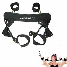 Adult Toy Fetish Bondage Restraint Collar 4 Way Hand Ankle Cuff Strap Set Sex