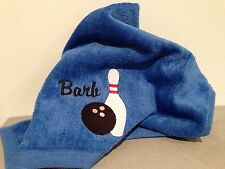 Personalized Bowling Sports Towel
