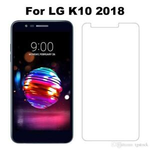 LG K10 2018 Tempered Glass Screen Protector - CRYSTAL CLEAR