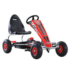 New listing Kids Children Boys Pedal Go Kart Ride On Car Racing Seat Outdoor Play Toy Gift