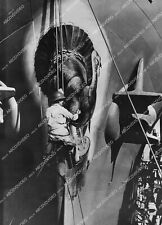 crp-11653 1943 WWII liberty ship gets bow painted w turkey for Thanksgiving in S