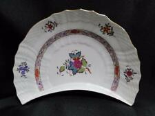 "Herend Chinese Bouquet Multicolor AF: Crescent Salad Plate (s) 8 1/4"", 1530"