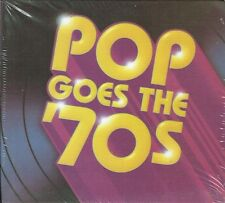 Pop Goes The 70's Time Life Music  10 CD Box set New FREE SHIPPING