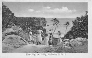 Barbados B.W.I. postcard Foul Bay St. Philip British West Indies
