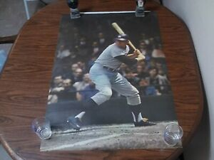 1968 Sports Illustrated Mickey Mantle Poster Excepetional Condition Rolled
