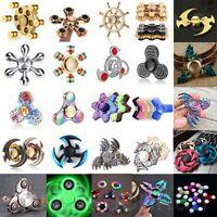 Fidget Finger Spinner Hand Focus Ultimate Spin Steel EDC Bearing Stress Toys Lot
