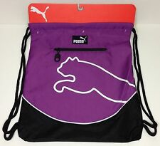 NEW PUMA CARRYSACK WITH ZIPPER BACKPACK