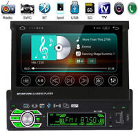 "Autoradio HD 7"" Écran Tactile 1DIN Car Stereo Bluetooth MP3 Radio FM AUX USB SD"