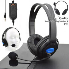 Wired Gaming Headset Headphones with Microphone for Sony PS4 PlayStation4 Stereo