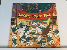 Very Rare The Smurfs Party Time LP Record Album S-1036 1984 BRAND NEW SEALED