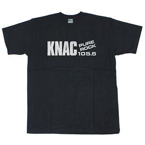 GILDAN Heavy T-shirt KNAC 105.5 Metal Pure Rock Radio Valley Size S - 3XL