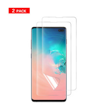 ✪ Samsung Galaxy S10 Plus Screen Protector ✪Full Coverage Case Friendly ✪