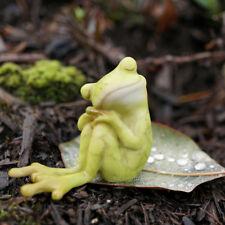 Miniature Fairy Garden FROG RESTING (NEW)