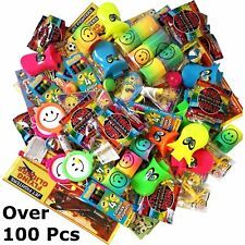 Over 100 Party Bag Fillers Toys Bundle for Kids With 24 Party Bags.Unisex.