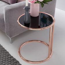 Conception table d'appoint ø45cm table en verre table de salon verre able basse