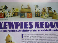 11pg German Bisque Kewpies Doll History Article / Collector's Obsession