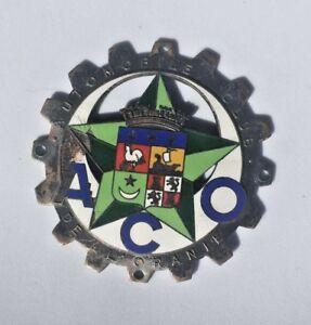 Automobile club de L'Oranie Car Badge