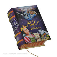 Alice in Wonderland Lewis Carroll hardcover mini book in English easy to read